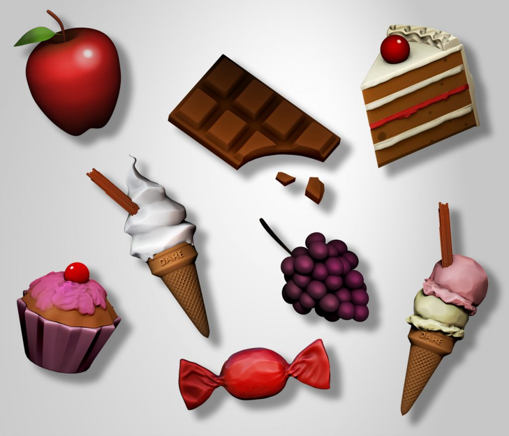 food-montage