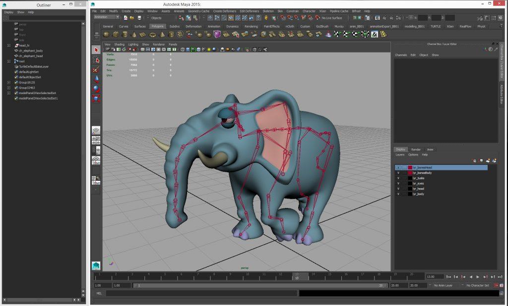 elephantskeleton